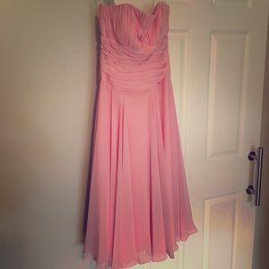 B2 pink bridesmaid Dress